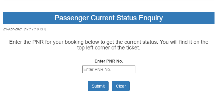 Check Train ticket Confirmation