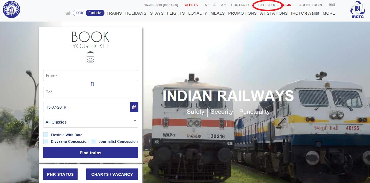 How to Create an IRCTC Account