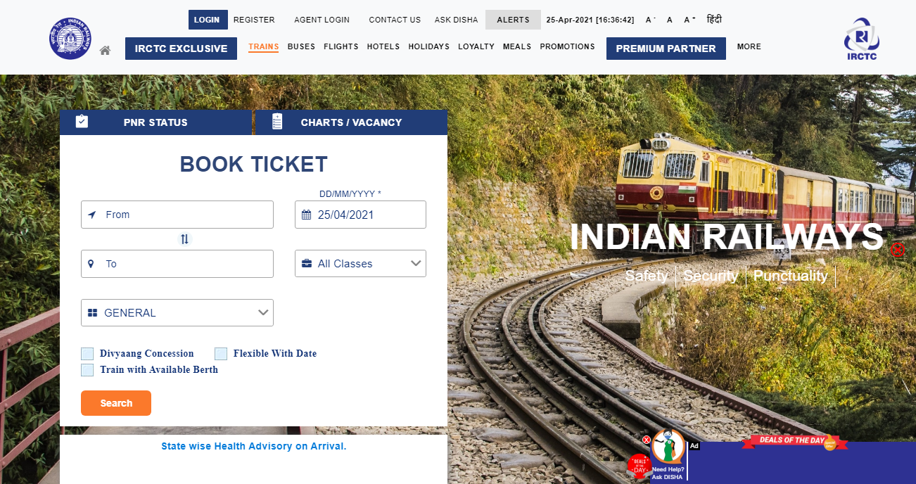 How to Online E-ticket Boarding Point Change